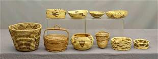 Native American Basket Lot