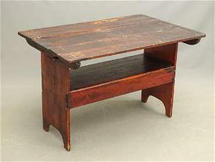 19th c. Hutch Table