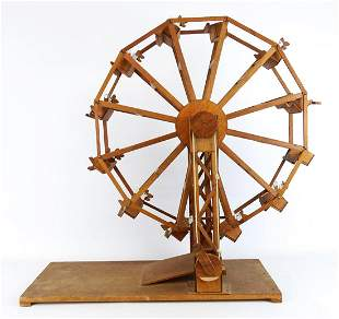 Folk Art Ferris Wheel