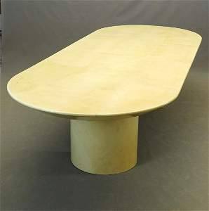 Karl Springer Dining Table
