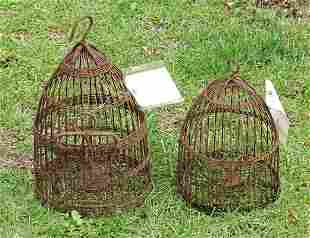 Early Wire Bird Cages