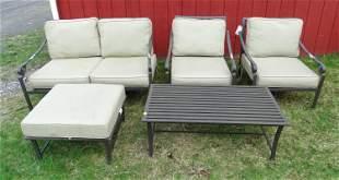 Aluminum Patio Furniture Lot