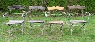 Set of Folding Patio Chairs