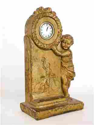 Early Clock with Safety Rider