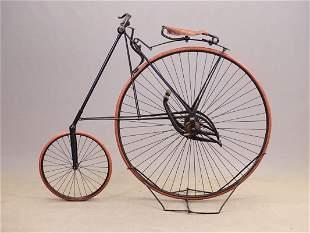 C. 1885 Pony Star High Wheel Bicycle
