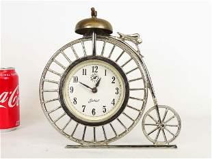 High Wheel Bicycle Clock