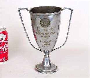 1924 Five Mile Race Bicycle Trophy