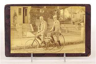 Tandem Tricycle Photograph