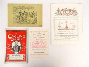 Bicycle Ephemera Lot