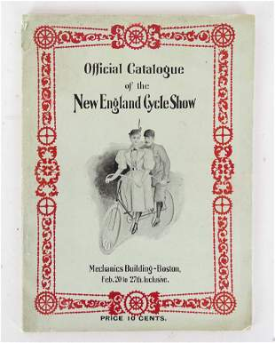1897 New England Cycle Show Catalog