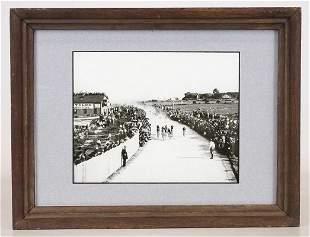 Bicycle Race Photograph