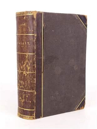 """Book: """"THE GALAXY"""", 1869 Velocipede Bound Volume"""