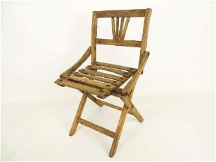 Early Child's Folding Chair
