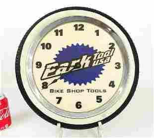 Bicycle Shop Clock