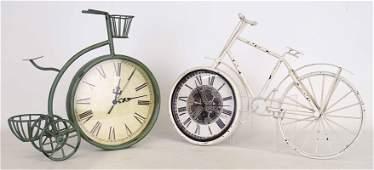 Bicycle Clocks