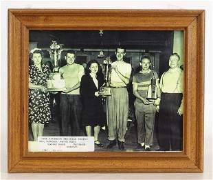 Carl Anderson Memorial Trophy Photograph