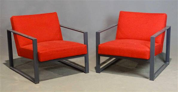 Pair Mid Century Chairs