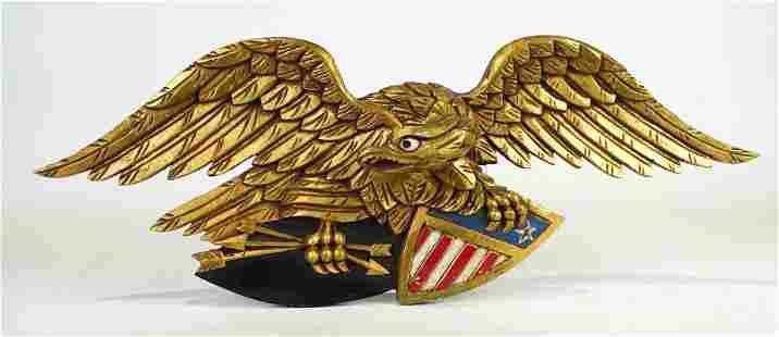 Carved Wooden Eagle