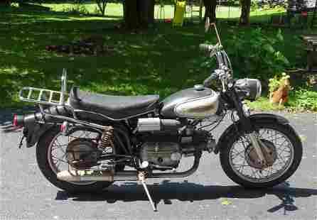 1966 Harley Davidson Motorcycle