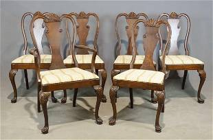 Set of Queen Anne Style Chairs