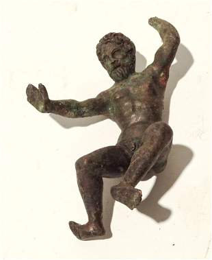 Early Bronze Figure of a Man