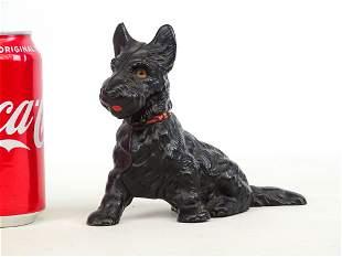 Hubley Scottie Dog Bank