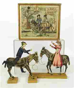 French Equestrian Toy