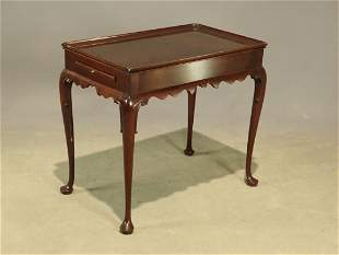 Colonial Williamsburg Stickley Tea Table