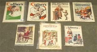 Santa Claus Cover Magazines