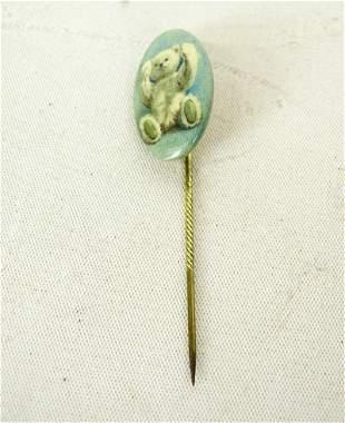 Steiff Bear Stick Pin