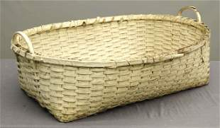 19th c. Shaker Type Basket
