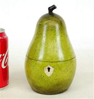 Pear Form Tea Caddy