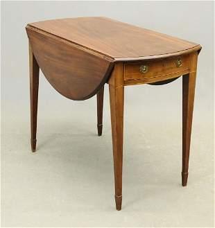19th c. Mahogany Pembroke Table
