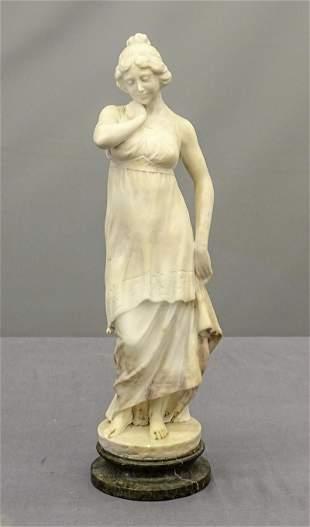 Italian School Alabaster Statue