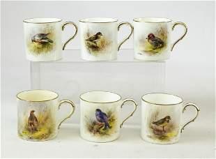 Royal Worcester Teacups