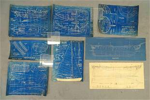 Boat Architecture Diagrams Plans Charts (8)