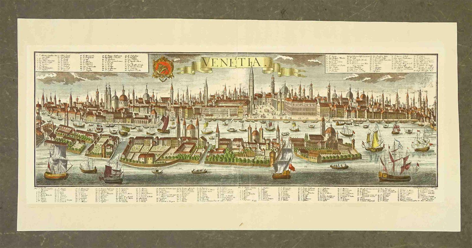 Venice, Italy Panorama View