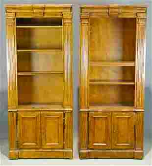 Pair Italian Bookshelves