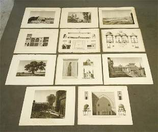 Napoleon Egypt Expedition Cairo View Prints (11)