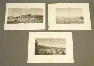 Napoleon Egypt Expedition View Prints (3)