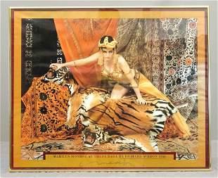 Richard Avedon Signed Poster