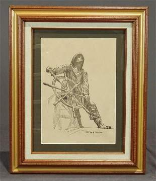 Emille R. Gruppe Lithograph