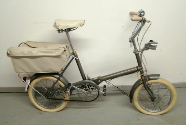 "C. 1960's ""R. S. W. Compact"" Folding Bicycle"