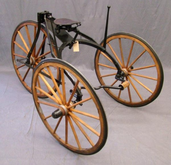 19th c. Tricycle