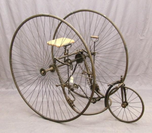 C. 1883 Three Track Columbia Tricycle
