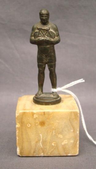 C. 1920's Bicycle Trophy