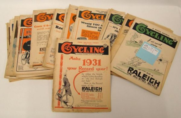 """Collection Of """"Cycling"""" Magazines (English)"""