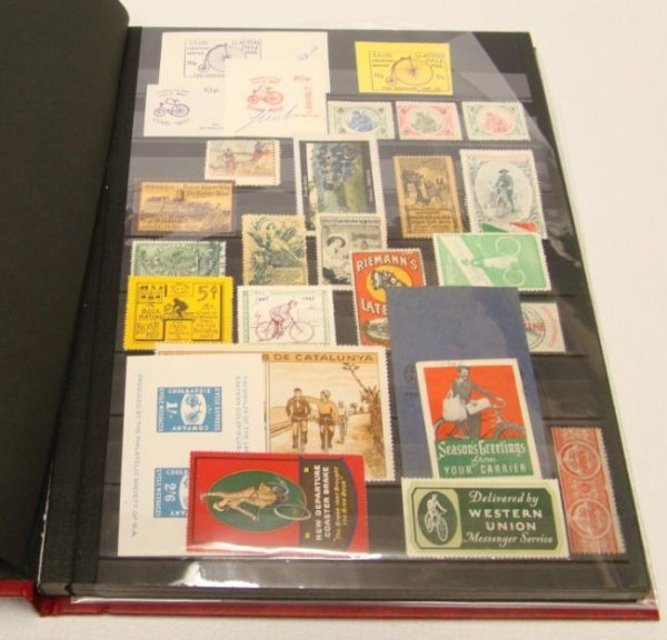 Bicycle Stamp Collection