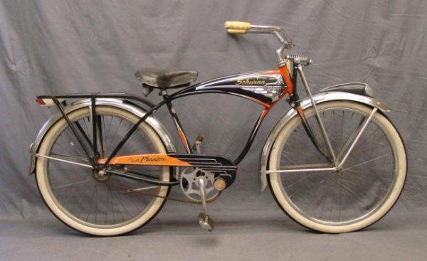 C. 1950 Schwinn Phantom Balloon Bicycle