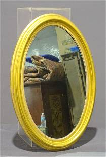19th c. Oval Mirror